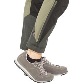 Lundhags Makke Spodnie Kobiety short czarny/oliwkowy